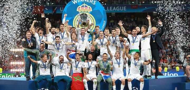 Real Madrid CL vinnare 2018