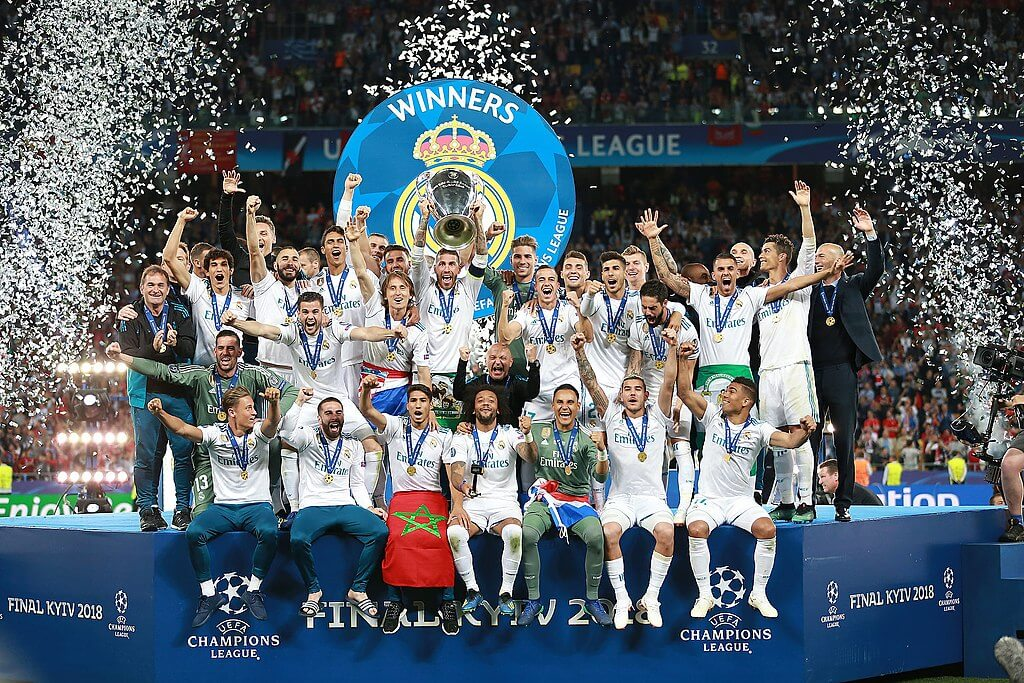 Real Madrid CL vinnare 2018